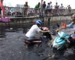 Sụt lún là 'thủ phạm' gây ngập lụt khi triều cường?