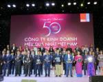PNJ tiếp tục lọt top 50 công ty kinh doanh hiệu quả nhất Việt Nam