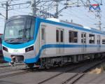 Đoàn tàu metro đầu tiên sắp về tới TP.HCM