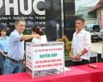 Doanh nghiệp HVNCLC hướng về đồng bào miền Trung