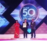 PNJ lọt top 50 công ty niêm yết tốt nhất Việt Nam lần thứ 6 liên tiếp