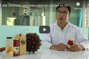 [Video] Mật dừa nước – sản phẩm sáng tạo của bạn trẻ 9X