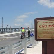 Thông xe cầu Mỹ Lợi nối liền Cần Giuộc và Gò Công