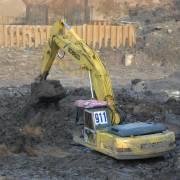 Bắt quả tang 1 cơ sở chôn lấp 3,5 tấn phế liệu