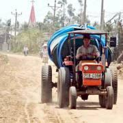 Bến Tre, Tiền Giang: Khẩn cấp vét nước cứu người, cứu lúa