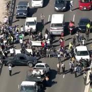 Người Mỹ xuống đường biểu tình phản đối Trump