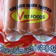 100% xúc xích Vietfoods được xét nghiệm chứa chất gây ung thư