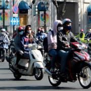 Tia cực tím ở Sài Gòn đang ở mức nguy hại rất cao