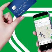 Grab áp dụng hình thức trả tiền bằng thẻ MasterCard