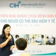 Bệnh viện quốc tế City nhận khám BHYT ban đầu