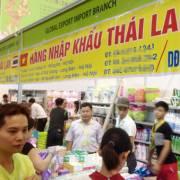Hàng nhập khẩu từ Thái Lan tăng mạnh