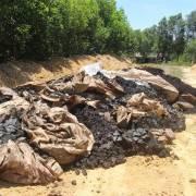 Việc xả nước không làm mất dấu vết Formosa đổ chất thải