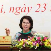 Chủ tịch QH: 'Hôm nay tôi mới biết ông Võ Kim Cự né báo chí'