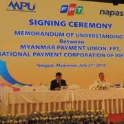 FPT là nhà thầu chính làm hệ thống chuyển mạch tài chính quốc gia Myanmar
