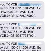 Chủ thẻ Vietcombank bị rút khỏi tài khoản 500 triệu đồng khi đang ngủ