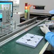 Điện Quang hoạt động dây chuyền dán chip LED thứ 5