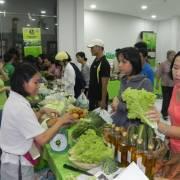 Rau hữu cơ đắt khách tại Phiên chợ Xanh – Tử Tế