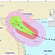 Bão số 7 vào ven biển Quảng Ninh-Hải Phòng, Đông Bắc bộ mưa lớn