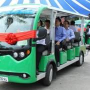 Tuyến xe buýt điện đầu tiên tại TPHCM miễn phí 3 ngày