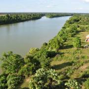 Trung Quốc viện trợ Campuchia xây cầu qua sông Mekong