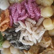 Bánh dân gian với những sắc màu tự nhiên