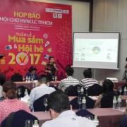Hội chợ HVNCLC 2017 tại TPHCM: 'Tuần lễ mua sắm và hội hè 2017'