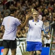 Khi Bill Gates chơi tennis cùng Federer