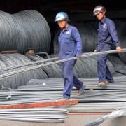Nhập khẩu sắt thép từ Trung Quốc tiếp tục tăng cao