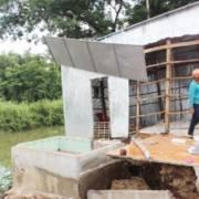 Lại xảy ra sạt lở ở An Giang, 6 căn nhà bị sụp