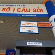 Cảnh báo tình trạng cửa hàng xăng dầu mạo danh Petrolimex