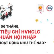 Bộ tiêu chí HVNCLC – Chuẩn hội nhập sau 6 tháng ra mắt