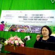 Những yêu cầu mới về tiêu chuẩn chất lượng để nông sản, thực phẩm Việt hội nhập