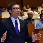 Phó thủ tướng Vũ Đức Đam trả lời chất vấn về Sơn Trà