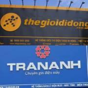 Thế Giới Di Động chuẩn bị mua chuỗi điện máy Trần Anh
