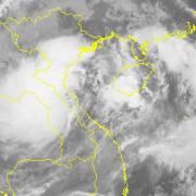 Sáng nay 10/10, áp thấp nhiệt đới đã đi vào các tỉnh Hà Tĩnh-Quảng Bình