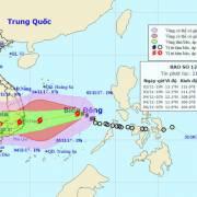 Bão số 12 tiếp tục mạnh lên, cách bờ biển Khánh Hòa 680 km