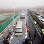 Trung Quốc thử nghiệm đường cao tốc năng lượng mặt trời