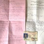 Công an trả giấy tờ cho tài xế trong vụ BOT Cai Lậy