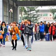 Du khách Trung Quốc nhập cảnh qua Cửa khẩu Móng Cái tăng đột biến
