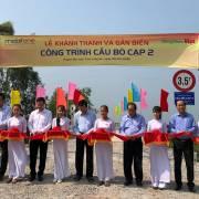 MobiFone tặng 6 cây cầu cho tỉnh Long An