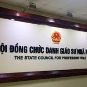 Hội đồng Chức danh giáo sư Nhà nước họp về kết quả rà soát GS, PGS 