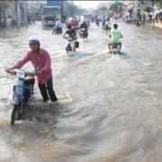 TP.HCM: Cảnh báo mưa trái mùa và triều cường trong dịp Tết