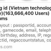 160 triệu Zing ID bị lộ thông tin