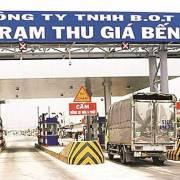 Bộ GTVT sẽ sửa đổi tên gọi trạm thu giá