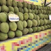 Trái cây Thái Lan xâm chiếm chợ Sài Gòn