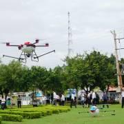 Drone tiếp cận nông nghiệp ĐBSCL