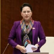 Chủ tịch Quốc hội kêu gọi người dân bình tĩnh