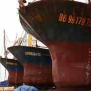 Bình Định: Chủ tàu vỏ thép nằm bờ lại mòn mỏi chờ bồi thường