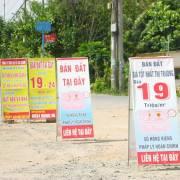 TP.HCM: Đất nền đầu cơ giảm giá mạnh
