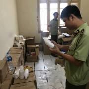 Phát hiện cả kho mỹ phẩm giả tại trụ sở cũ của Thanh tra Chính phủ